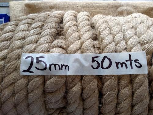 Cordón Yute 25mm 50mts