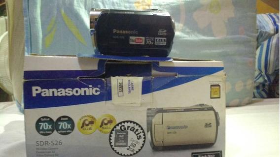 Vendo Filmadora Panasonic Sdr-s26 70x