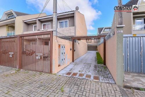 Sobrado Com 3 Dormitórios À Venda, 130 M² Por R$ 368.000,00 - Fazendinha - Curitiba/pr - So0030