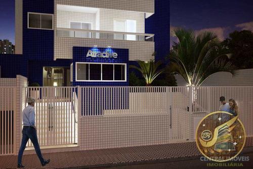 Apartamento Com 2 Dorms, Guilhermina, Praia Grande - R$ 270 Mil, Cod: 7763 - V7763