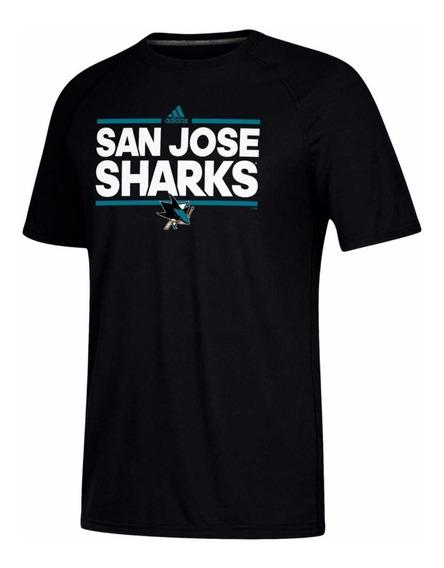 Playera adidas San Jose Sharks (talla Xl) 100% Original Homb