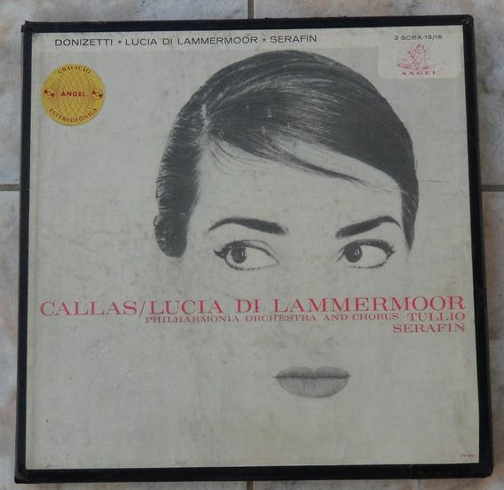 Callas-lucia Di Lammermoor-box 2 Lps(colecionador-mg)