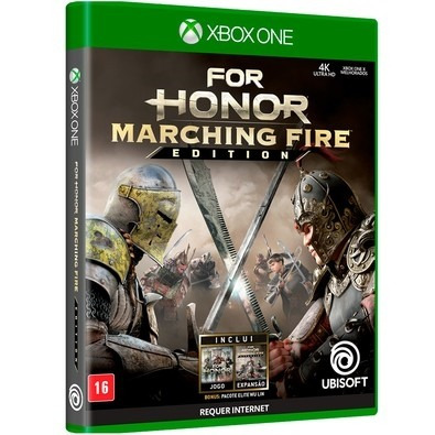 For Honor Marching Fire Edt Xbox One Mídia Física Lacrado