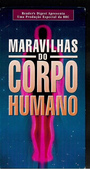 Box 3 Fitas Vhs Original - Maravilhas Do Corpo Humano