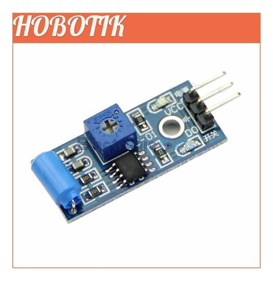 Módulo Sw-420 Sensor De Vibração Estremecimento Pic Arduino