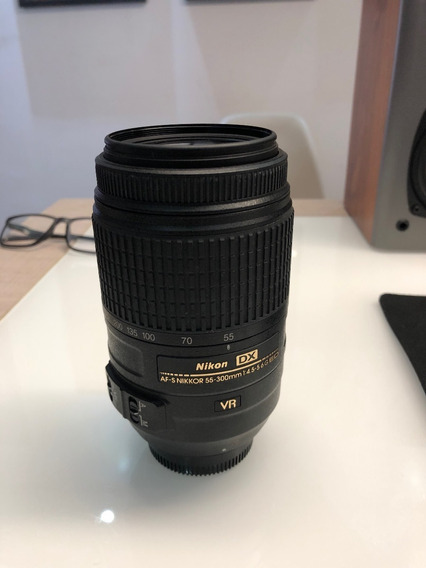 Lente Af-s Dx Nikkor 55-300mm F / 4.5-5.6g Ed Vr Nikon