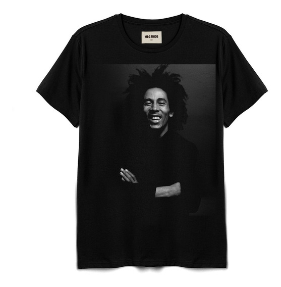 Playera Bm Mecánico Jeans Bob Marley