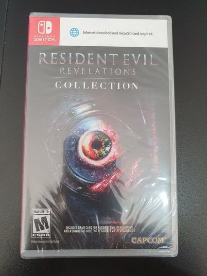 Jogo Resident Evil Revelations Nintendo Switch Midia Fisica