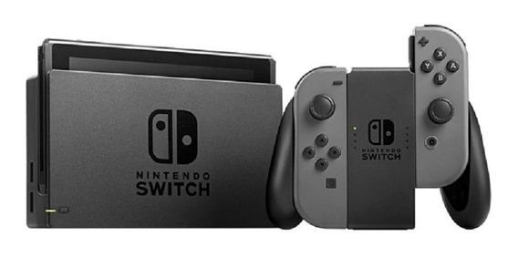 Console Nintendo Switch 32gb Colorido Ou Cinza P/ Entrega