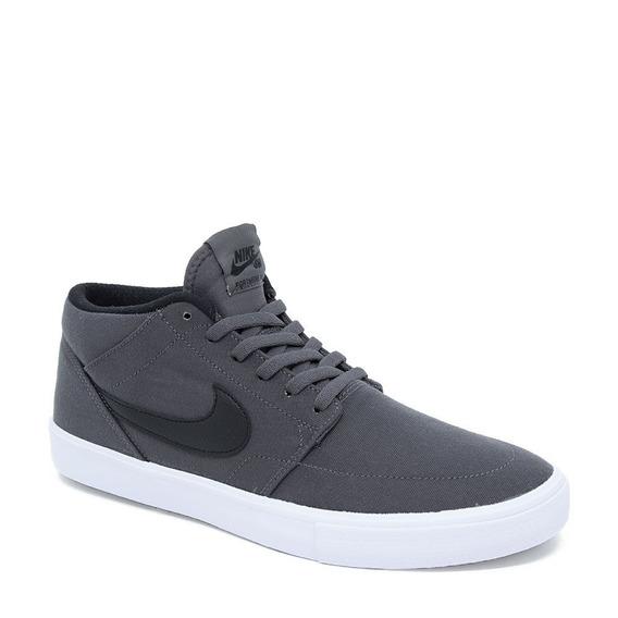 Tênis Nike Sb Aq7728 Portmore Ii Canvas Preto