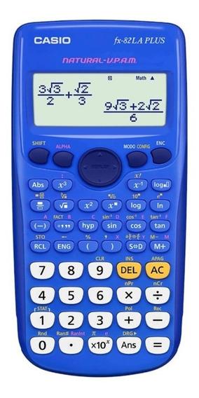 Calculadora Casio Fx-82la Plus Azul