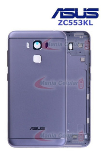 Carcaça Botões Lente Câmera Asus Zenfone 3 Max Zc553kl Grafi