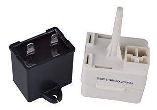 Compresor De Arranque Del Refrigerador Rele Y Condensador Pa