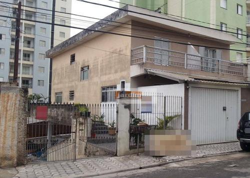 Sobrado  Residencial À Venda, Vila Príncipe De Gales, Santo André. - So0915