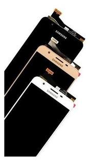 Tela Touch Display Lcd Samsung Galaxy J7 Prime G610 Dourado