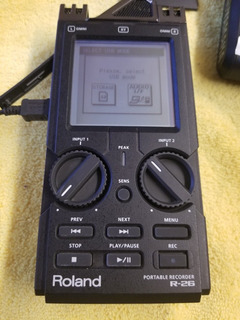 Roland R-26 Micrófono Portable Grabadora