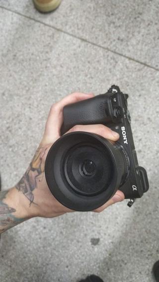 A6300 + 30mm 2.8 + 55mm 2.0 Com Adaptador