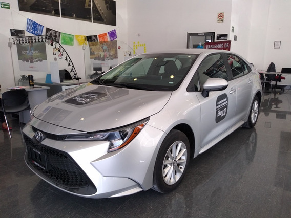 Toyota Corolla Le 2020 Color Plata Automático Demo