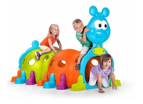 Tunel De Juegos Para Niños Oruga Happy Caterpillar Feber