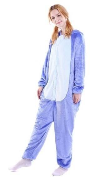 Pijama Stitch Kawaii Moda Mameluco Kigurumi
