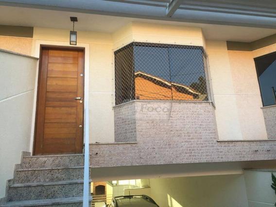 Sobrado Com 3 Dormitórios À Venda, 160 M² Por R$ 440.000 - Chácara Do Vovô - Guarulhos/sp - So0366