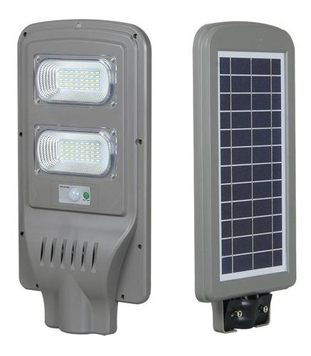 Lampara Led 60w Con Panel Solar Para Poste