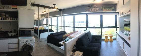 Apartamento Em Praia De Belas Com 1 Dormitório - Ca4268