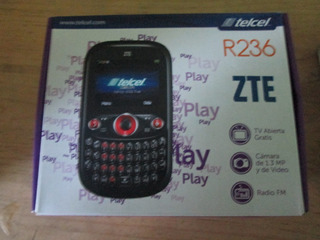 Caja Para Celular Zte R236