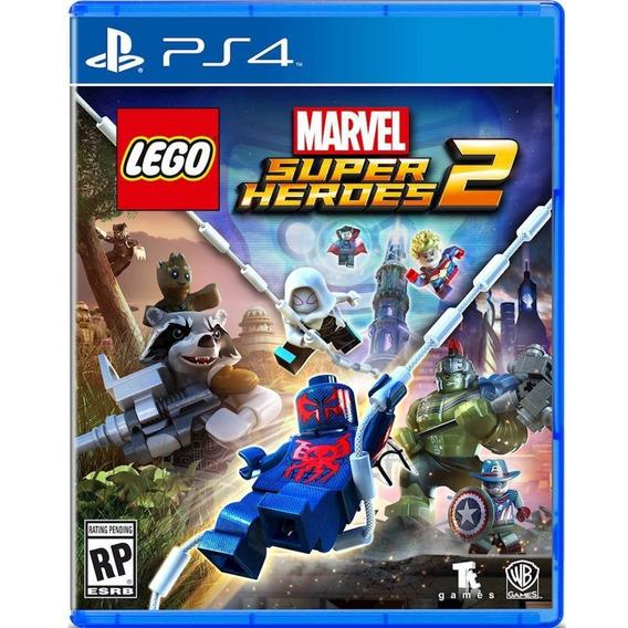 Lego Marvel Super Heroes 2 Ps4 Mídia Física Lacrado