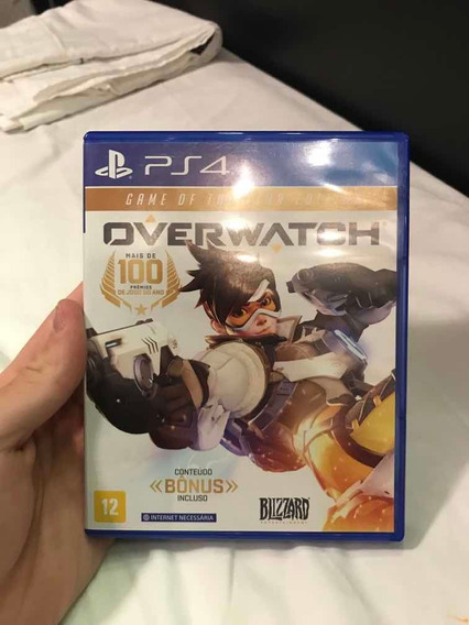 Overwatch Ps4 Novo