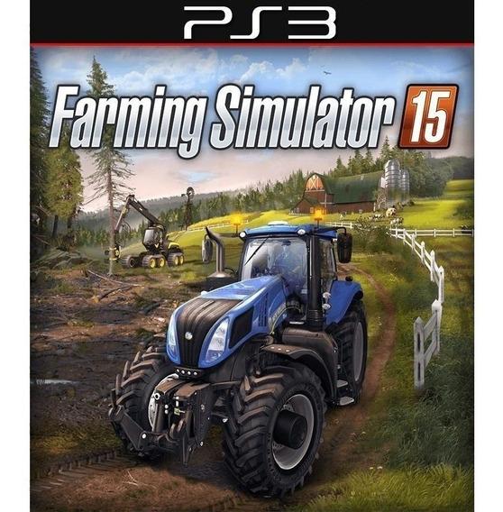 Farming Simulator 15 Ps3 Original Envio Imediato Psn!