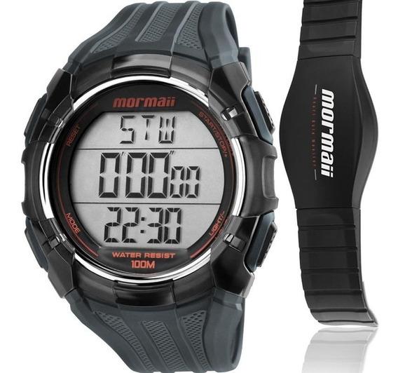 Relógio Masculino Mormaii Monitor Cardíaco Mo11558a/8r