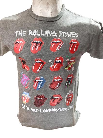 Remera The Rolling Stones Calidad Premium Varios Colores