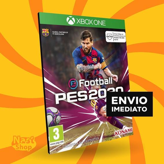 Pes 2020 Xbox One Evolution Soccer Português Jogo Digital