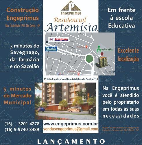 Venda De Apartamentos / Padrão  Na Cidade De São Carlos 25923