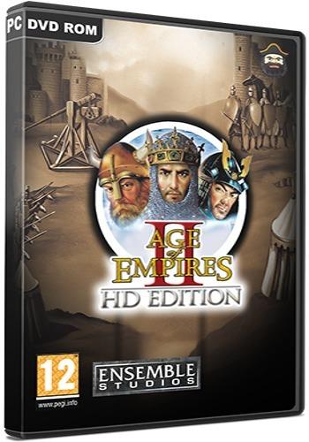 Age Of Empires 2 Hd Edition - Pc Dvd - Frete 8 Reais