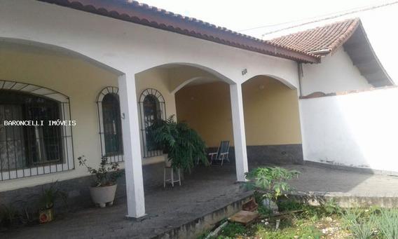 Casa A Venda Em Peruíbe, Jd Ribamar, 3 Dormitórios, 2 Suítes, 3 Banheiros, 6 Vagas - Rb 0672