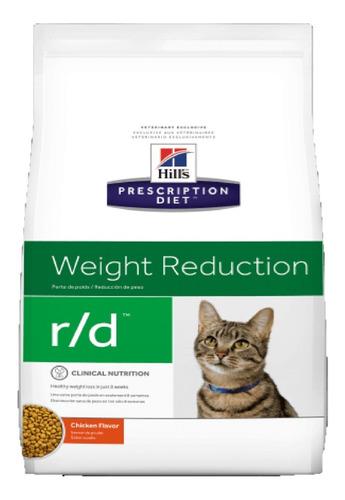 Alimento Hills R/d Reduccion De Peso Gatos 3.9kg