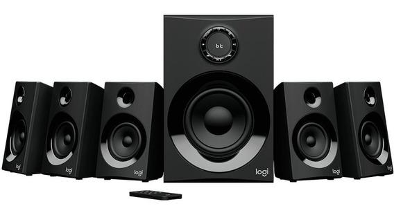 Caixa De Som Logitech Z607 5.1 Surround, Bluetooth, 160w +nf