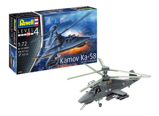 Kamov Ka-58 Stealth Helicopter 1/72 Revell 3889