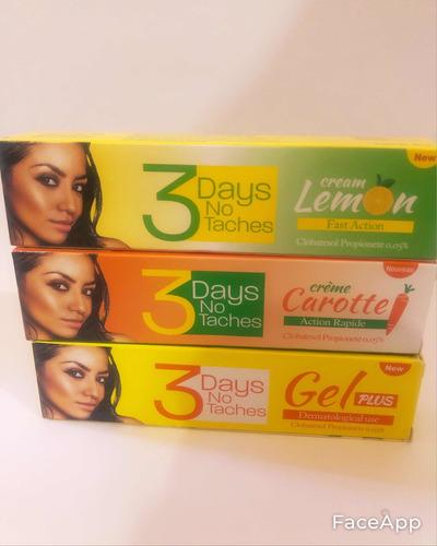 Imagen 1 de 1 de Crema Dermatologista 3 Dias Son Manchas
