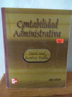 Contabilidad Administrativa. David Noel Ramírez Padilla