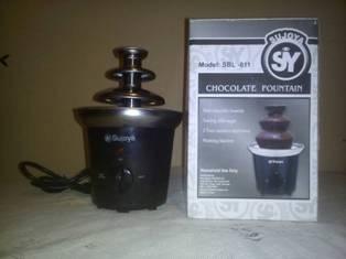 Fuente De Chocolate Importada Nueva De Paquete