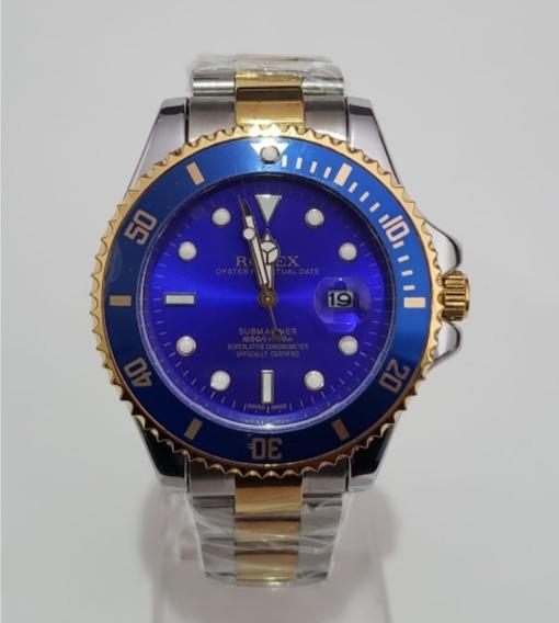 Relógio Masculino Blue Silver