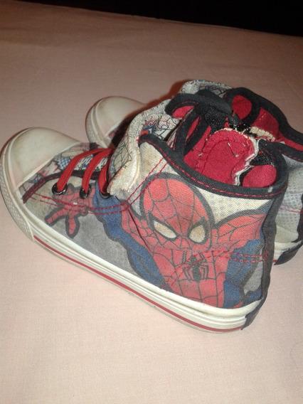 Zapatos Niño Botines Spiderman Talla 30