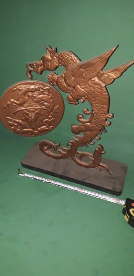 Antiguo Gong Chino Dragón