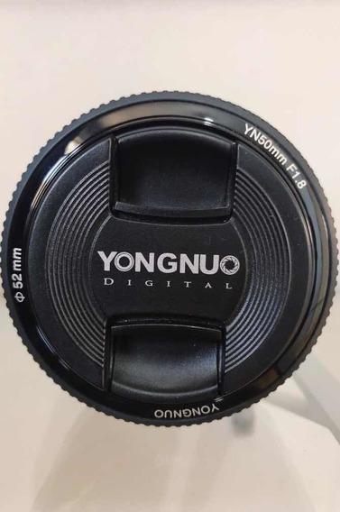 Lente Yongnuo 50mm F1.8 P/ Canon