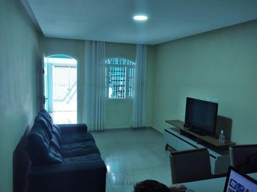 Sobrado Para Venda Em Taboão Da Serra, Parque Pinheiros, 3 Dormitórios, 1 Banheiro, 1 Vaga - So0535_1-1010289