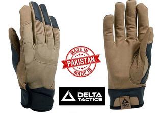 Luva Tática Delta Tactics Combat Caqui Dtx 1ªlinha Pakistan