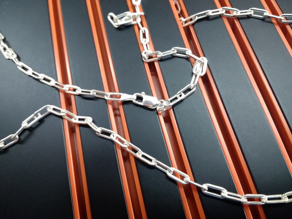 Cordao Corrente Italiana Cartie Prata 925 70cm 9,5 Gr Oferta